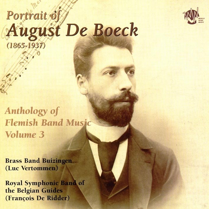Portrait of August De Boeck