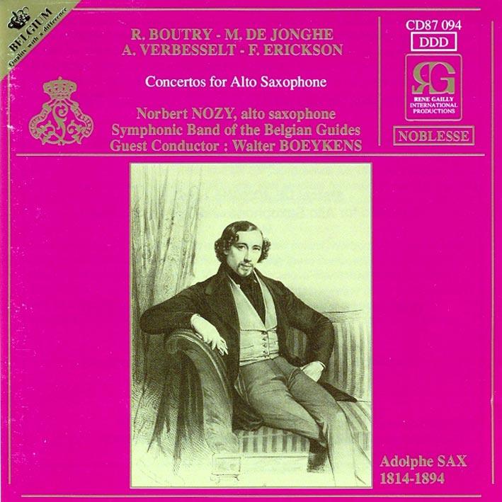 Concertos for Alto Saxophone