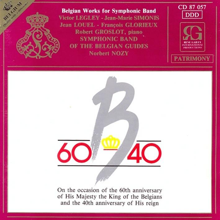 Belgian Works for Orchestre d'Harmonie Vol. 2