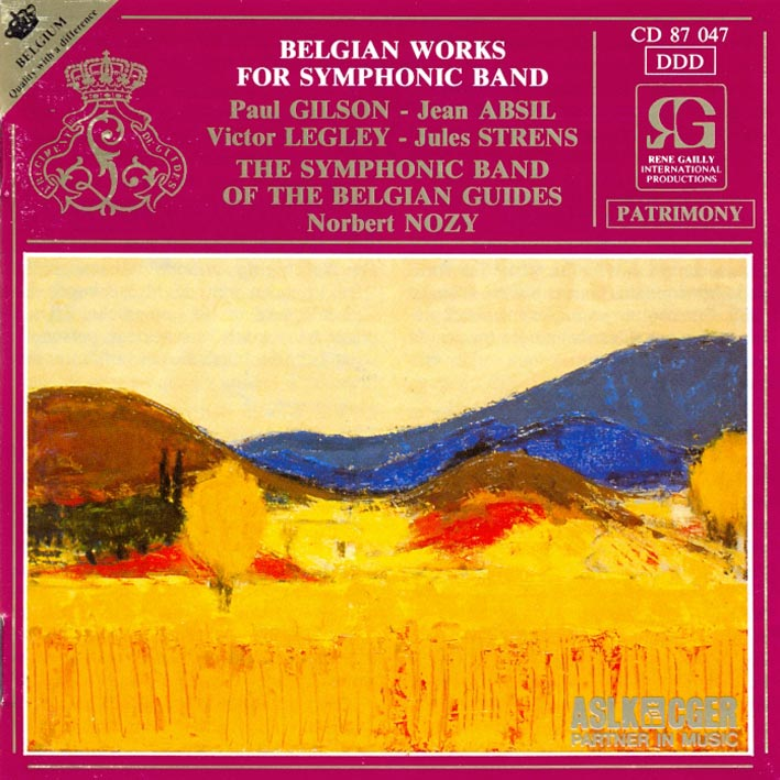Belgian Works for Orchestre d'Harmonie