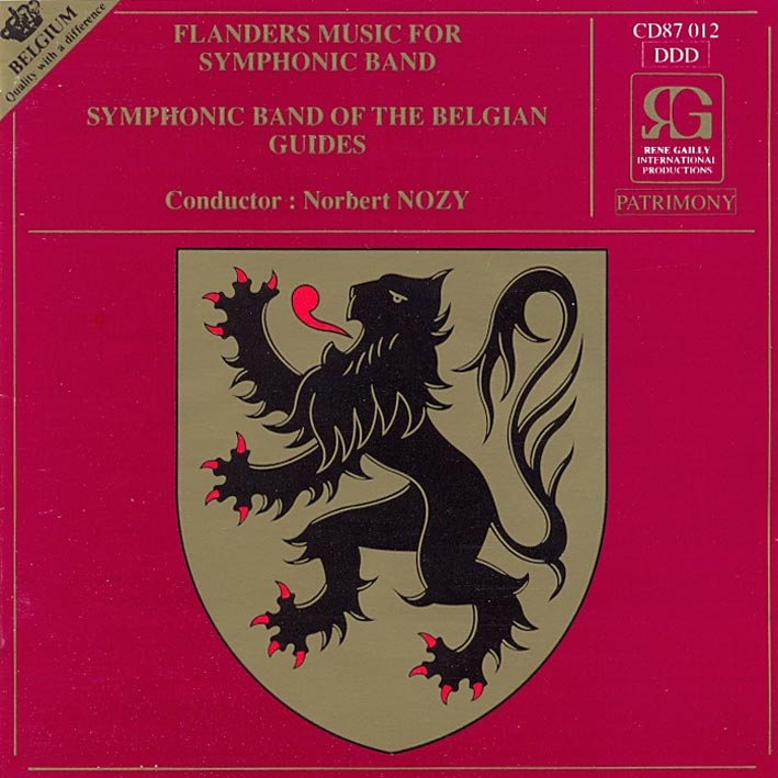 Flanders Music for Symphonic Band