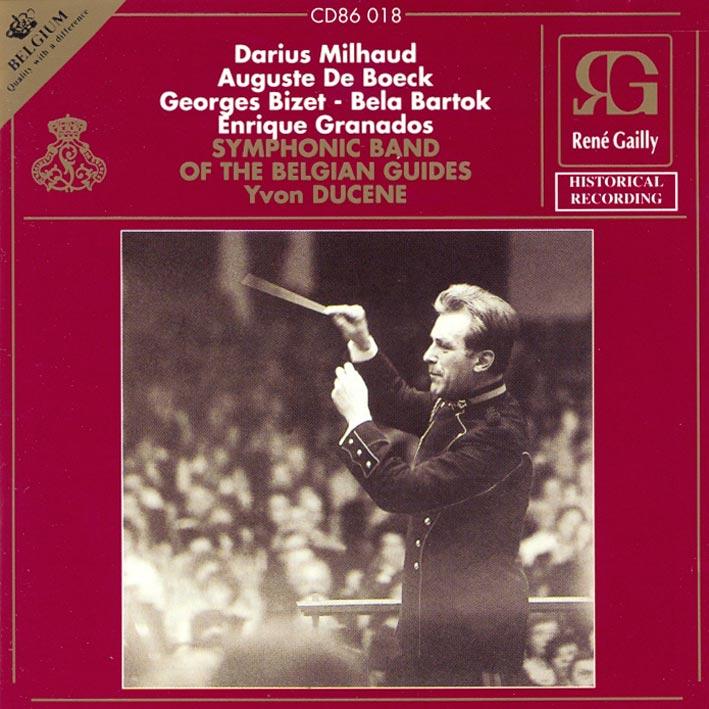 Darius Milhaud - Auguste De Boeck - Georges Bizet - Bela Bartok - Enrike Granados
