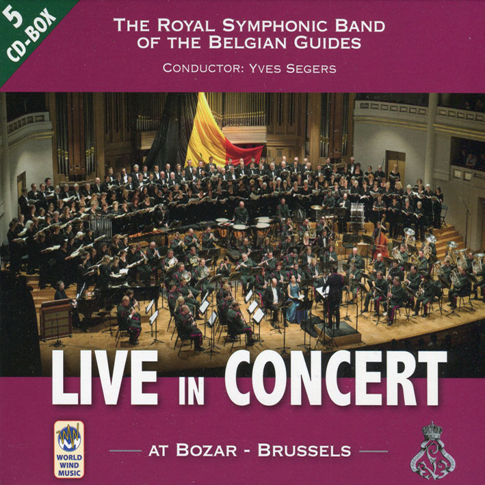Live in Concert – At Bozar – Brussels (5 CD)