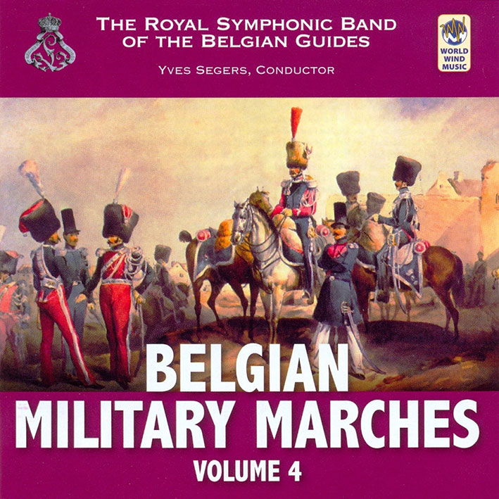 Belgian Military Marches Vol. 4
